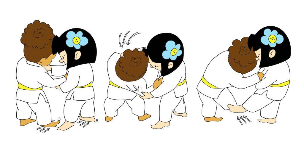 Ashi Waza 1