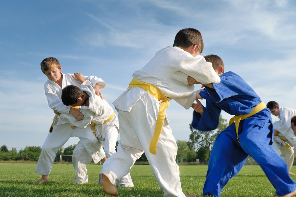 Judo Kids Photo