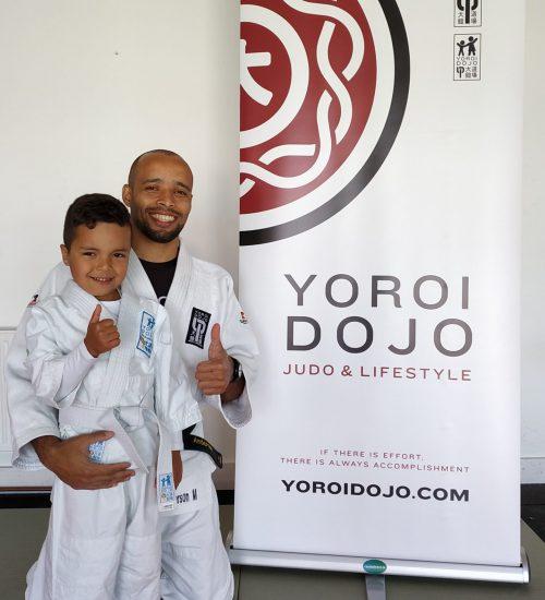 Judo Coach Anderson Santos